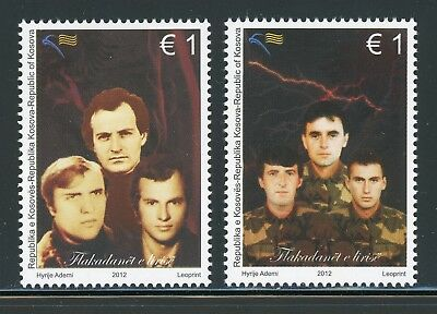 Kosovo MNH Selections: Scott #197-198 Freedom Fighters CV$5+