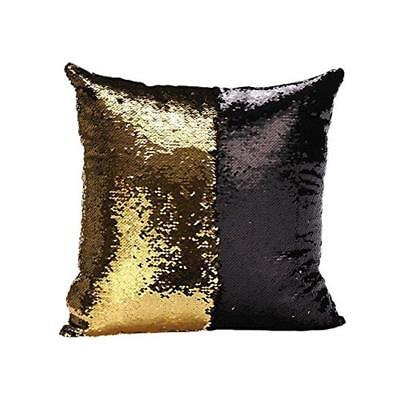 MareLight Reversible Sequins Mermaid Pillow Case Cover Throw Cushion Case 40x40C