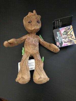 Marvel 2017 Baby Groot 8 Inch Plush Soft Doll Toy  Guardian Of The Galaxy Disney