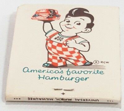 Vintage Marc's Big Boy Match Book Collectable