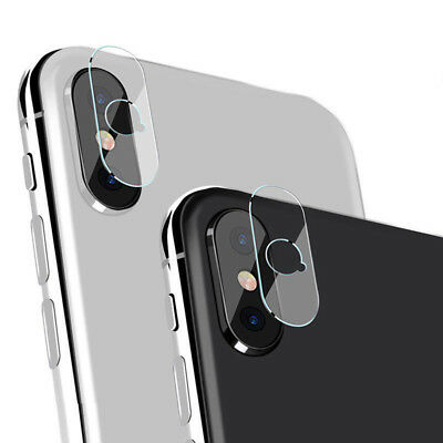 Back Camera Lens Tempered Glass Protector For iPhone X iPhone 8 Plus /8 /7/6  JX