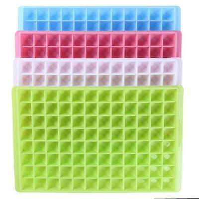 96 Grids Mini Small Ice Cube Tray Frozen Cubes Tray Silicone Ice Maker Mold JJ