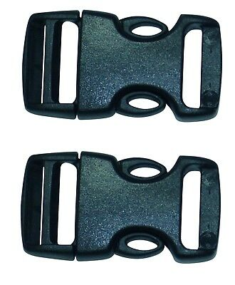 Benristraps Side Release or Quick Release Buckles for Narrow Fabrics