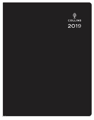 Collins Leadership 2019 Black Wiro Appointment Diary - Choose Size & Layout