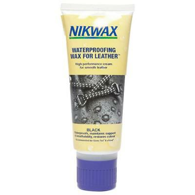 Nikwax Waterproofing Wax For Leather Cream - Black 100