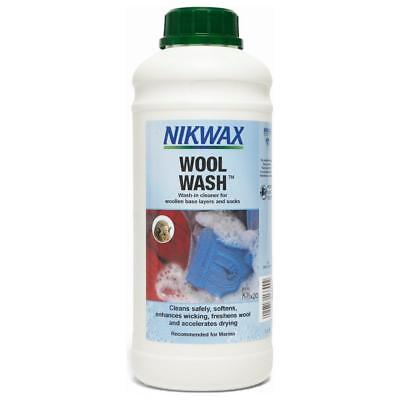 Nikwax Wool Wash 1 Litre Fabric Washing Treatment One Colour