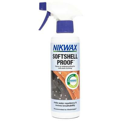 New Nikwax Softshell Proofer Spray 300Ml Fabric Washing Treatment