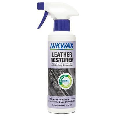 New Nikwax Leather Restorer 300Ml Fabric Washing Treatment