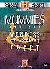 DVD: Mummies And The Wonders of Ancient Egypt, Lisa Bourgoujian. Good Cond.: Bob