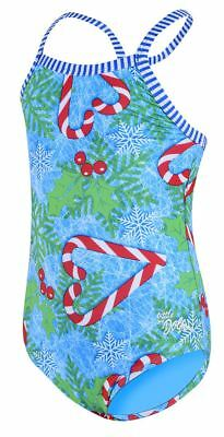 Uglies- Little Dolphins - Holly Jolly- Blue- Junior Swimsuits