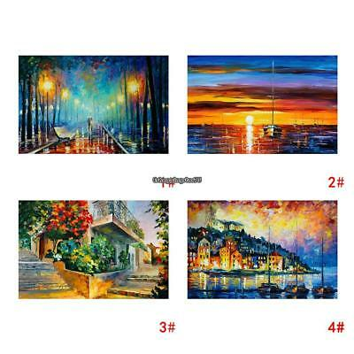 Modern Canvas Print Art Oil Painting Wall Picture Home Decor Unframed 100x50cm