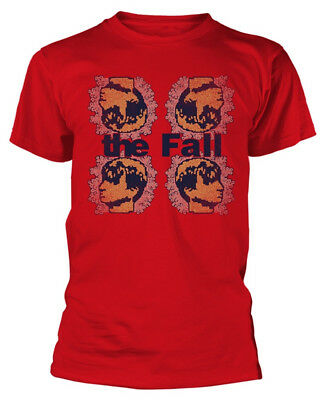 The Fall 'Mark Four' (Red) T-Shirt - NEW & OFFICIAL!