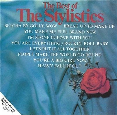 Audio CD: Stylistics-Best Of, The Stylistics. Acceptable Cond. . 051617074328