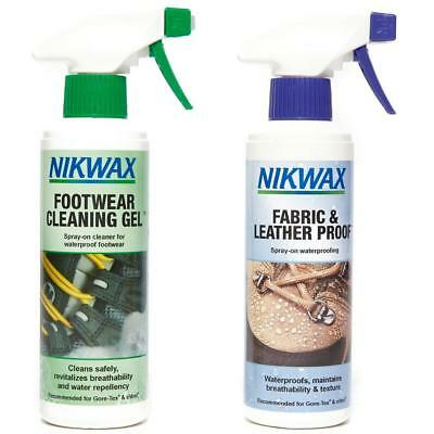 Nikwax Footwear Cleaning Gel Proofer 300Ml Equipment Treatment Washing