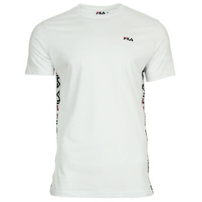 06ea2aa2ccfe VÊTEMENT T-SHIRTS FILA homme Talan Tee SS taille Blanc Coton - EUR ...