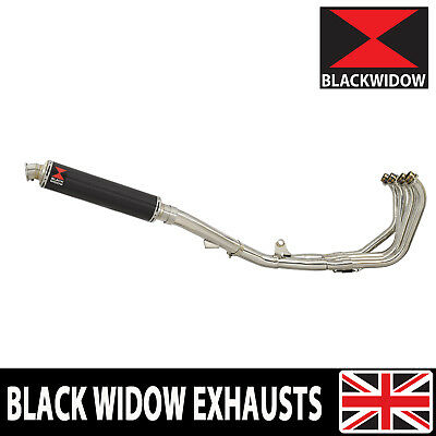 CBR600 91-98 FM-FW Exhaust System + 350mm Carbon + Stainless Tip Silencer CN35R