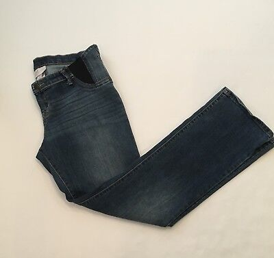 Isabel Maternity By Ingrid & Isabel Size 10 Maternity Inset Panel Bootcut Jeans