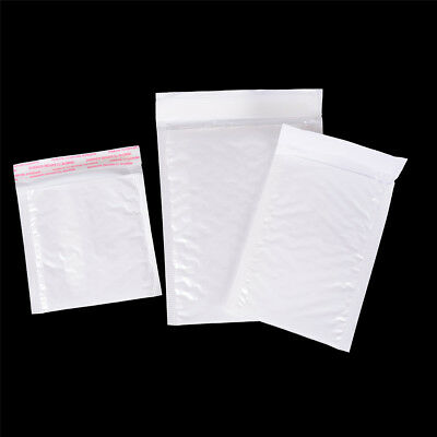 10Pcs Poly Bubble Mailers Padded Envelopes Shipping Packaging Bags Self Seal gvu