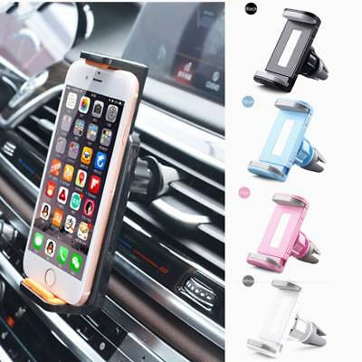 4-Colors 360 Rotating Car Air Vent Mount Cradle Holder Stand For Mobile Phones