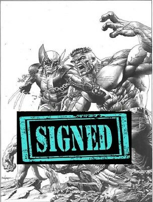 "Return Of Wolverine #1 Variant Suayan Trade ""signed"" X-Men Hulk 181 Limited 1000"
