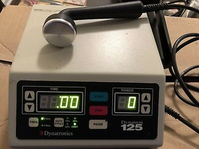 2007 Dynatronics Dynatron 125 Ultrasound Unit Physical Therapy &  Chiropractor