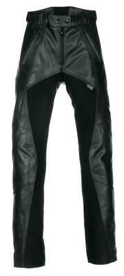 a72fb0b0ed Richa Ladies Freedom Motorcycle Motorbike Leather Trousers Pants Black  Short Leg