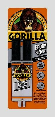 New Gorilla Glue Epoxy Adhesive .85oz High Strength Dries Clear Multi 4200102
