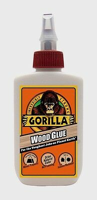 New Gorilla Glue Wood glue 4oz Adhesive High Strength Cures in 24 hrs 6202003