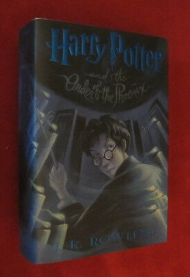 Harry Potter and the Order of the Phoenix by J. K. Rowling (2003, HCDJ) NEW