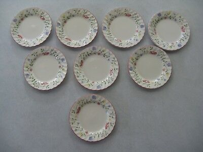 Eight Johnson Brothers Summer Chintz Bread Plates... In Mint Condition!