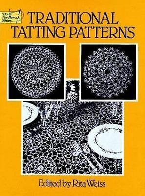 Traditional Tatting Patterns (Dover Needlework Series), , Acceptable Book