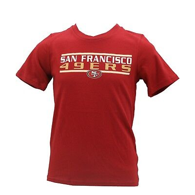 San Francisco 49ers Official NFL Team Apparel Youth Kids Size T-Shirt New  Tags 050f6eda7