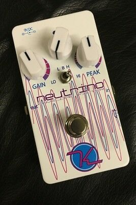 USED KEELEY NEUTRINO ENVELOPE FILTER EFFECTS PEDAL w/ CABLE FREE US SHIPPING