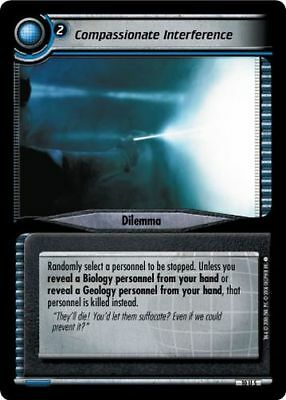 Star Trek CCG 2E Captain's Log Compassionate Interference 10U5