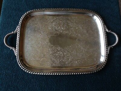 Vintage US Sheffield Silver EPS Play Tray