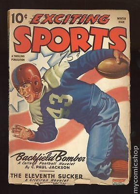 Exciting Sports (Better Publications) #Vol. 5 #1 1944 GD 2.0 Low Grade