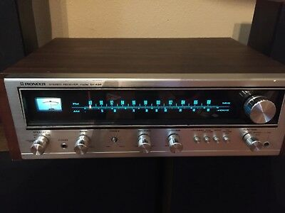 Vintage Pioneer Stereo Receiver SX-434 ~ Working 75 Watts 2-4 channel