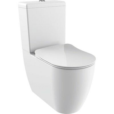 Phenomenal Creavit Fe360 Fully Back To Wall Close Coupled Toilet Pan Wc Dailytribune Chair Design For Home Dailytribuneorg