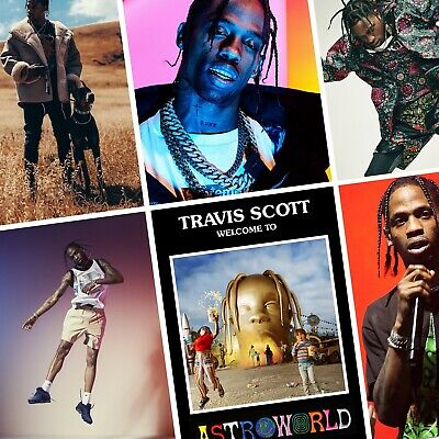 TRAVIS SCOTT Astroworld PHOTO Print POSTER Rodeo Birds In The Trap Kanye Shirt