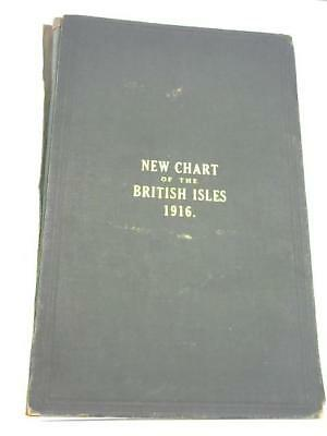 New Chart of the British Isles, 1916 G.W. Bacon 1916 Book 47929