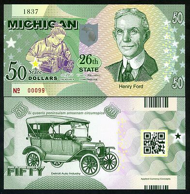 USA States, Michigan, Polymer, ND (2017), UNC Henry Ford, Modell T
