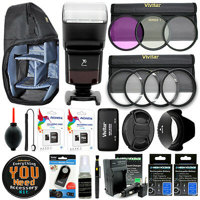 Canon EOS 80D 70D 60D 5D 6D 7D camera Everything You Need Accessory Kit Bundle
