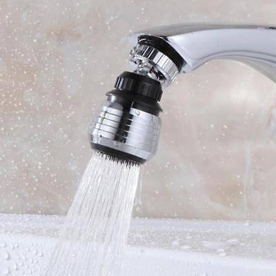 360° Rotate Faucet Water Bubbler Kitchen Tap Head Filter Spray Nozzle Connector