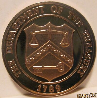 Department of the Treasury 1789 San Francisco United States Mint Proof set Coin