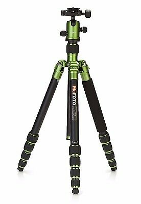 MeFoto A1350Q1G Roadtrip Travel Tripod Kit (Green) - Display W/ FULL Warranty