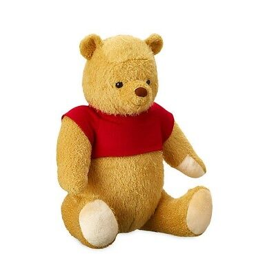 NWT 17in Christopher Robin movie Plush winnie the pooh jointed Disney Store
