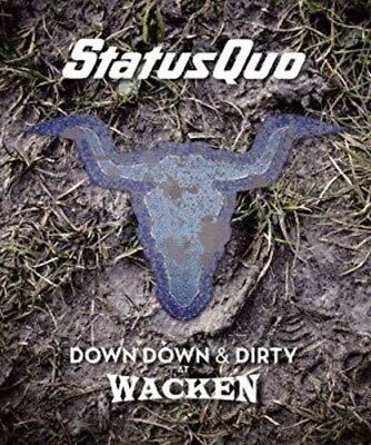 Status Quo - Down Down & Dirty At Wacken [New CD] With Blu-Ray, UK - Import