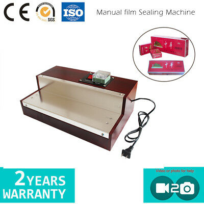 Manual Flat Film Sealing Machine For Cigarette, Comestic Heat-shrinkable Film