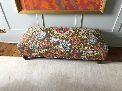 Antique French Art Deco Footstool