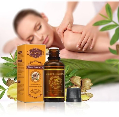 100% Pure Natural Plant Therapy Lymphatic Drainage Ginger Oil Body Essential Oil